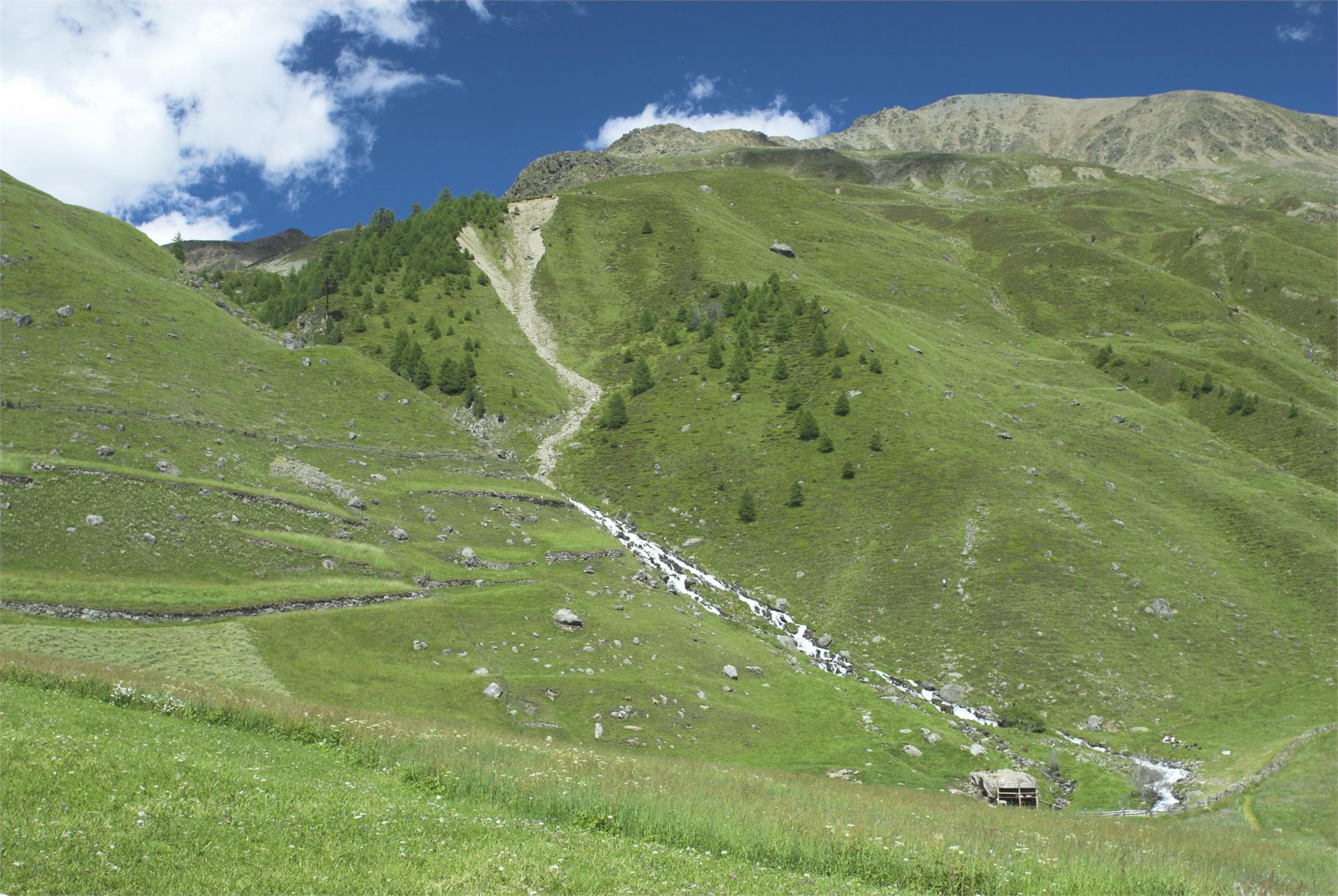 zona escursionistica Vallelunga