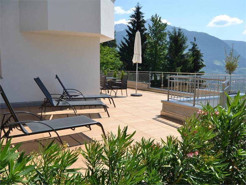 Residence Lechner - Balkon