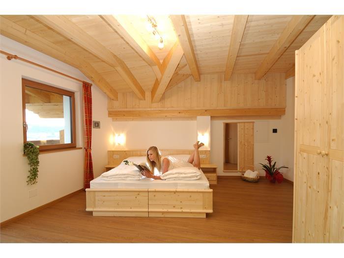 Aparthotel Viktoria Castelrotto Alpe di Siusi Dolomites example room apartment Superior