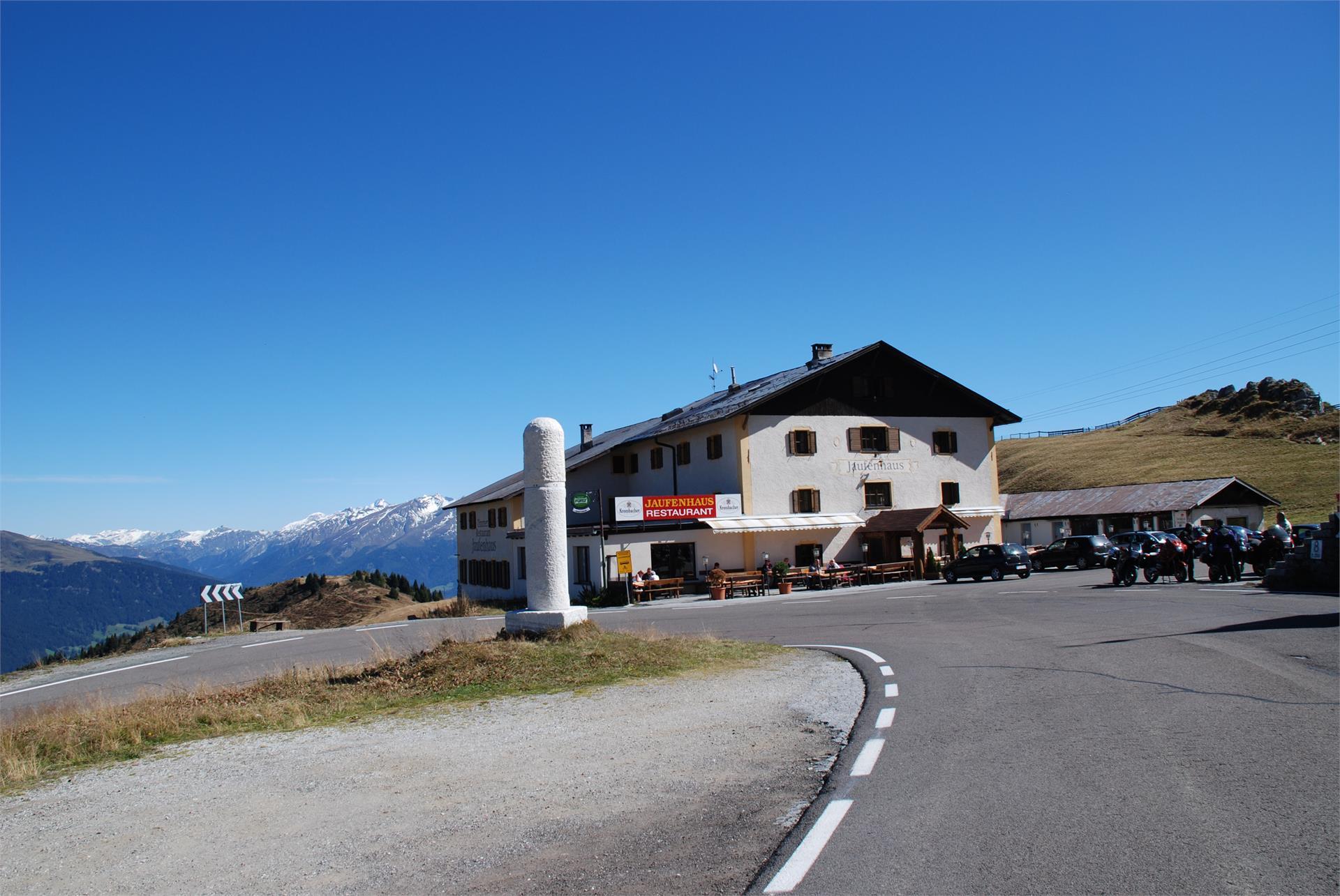Berggasthof Jaufenhaus, direkt am Jaufenpass