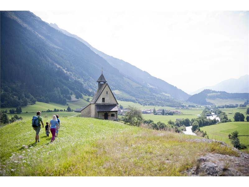 From Maiern to Gasse in the Ridnauntal Valley