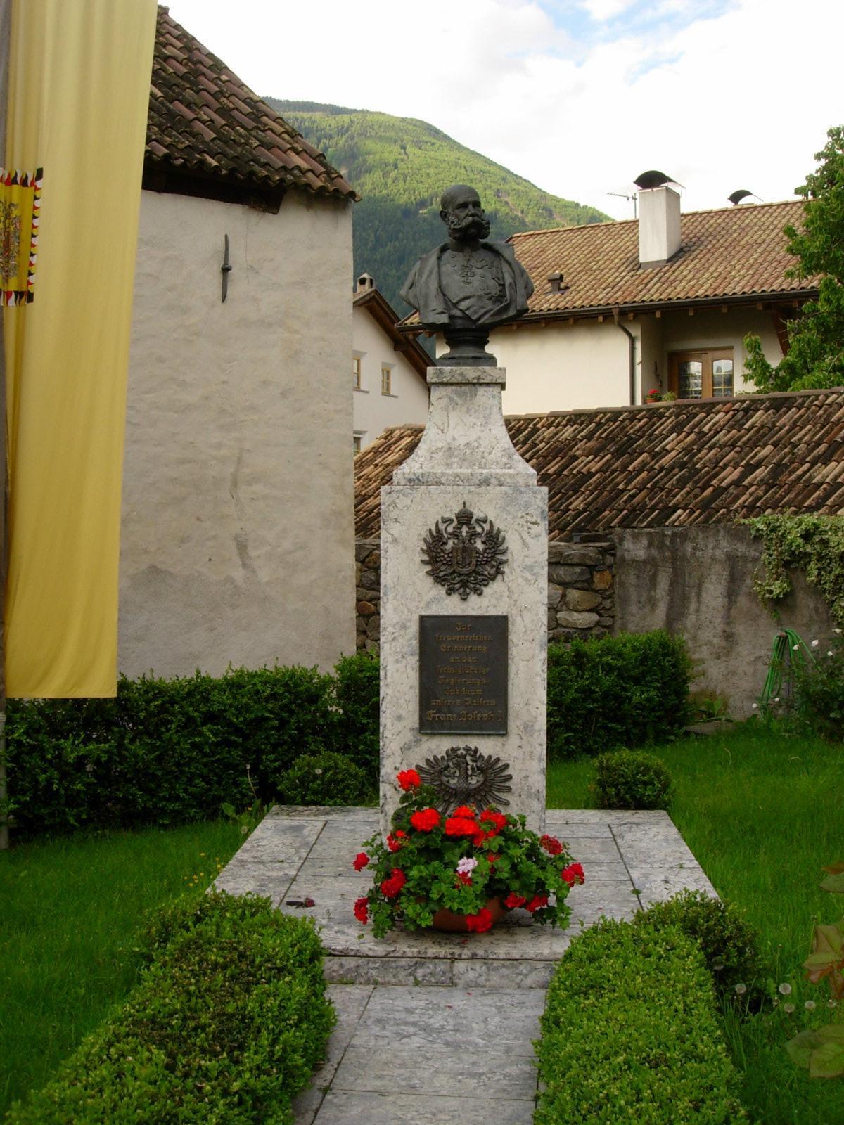 Monument of Kaiser (Emperor) Franz Josef