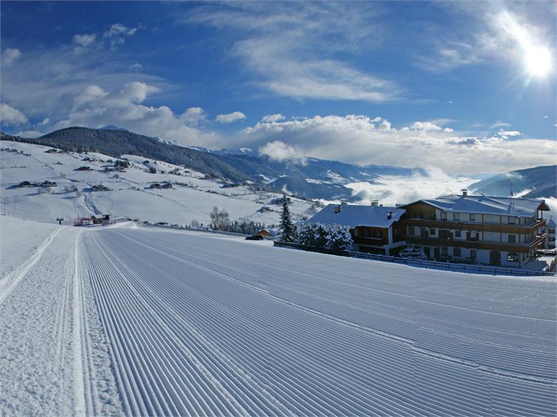 Direttamente accanto allo skilift