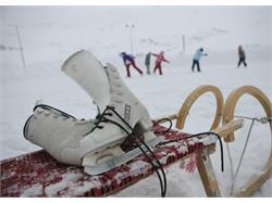 Natural ice rink Madonna di Senales/Unser Frau