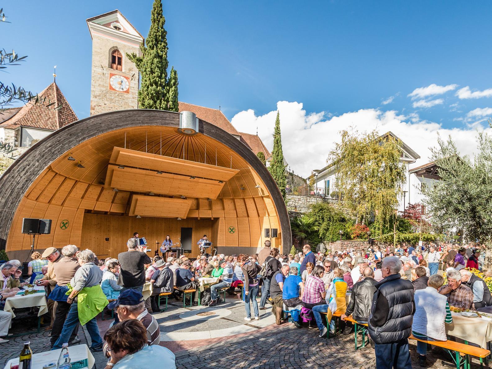 Concerto della banda musicale di Böhmische Albeins