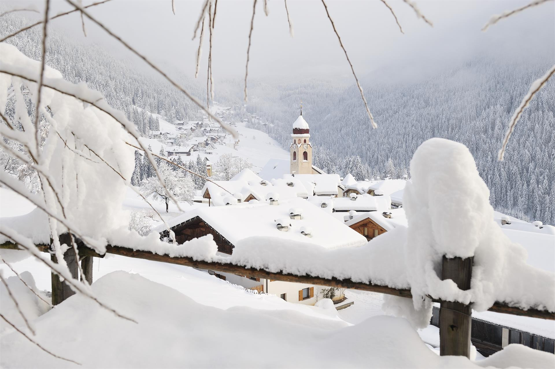 Winterlandschaft Welschnofen