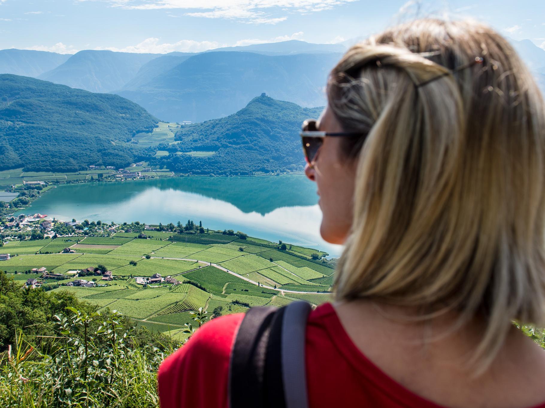 Rastenbachklamm zwischen Altenburg und dem Kalterer See