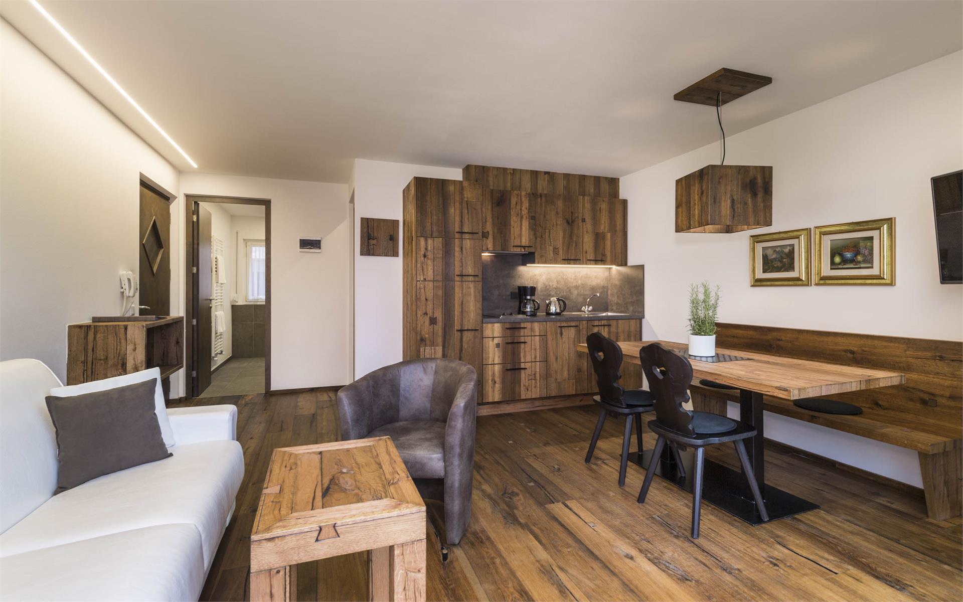 Appartement Typ B Chalet Stil