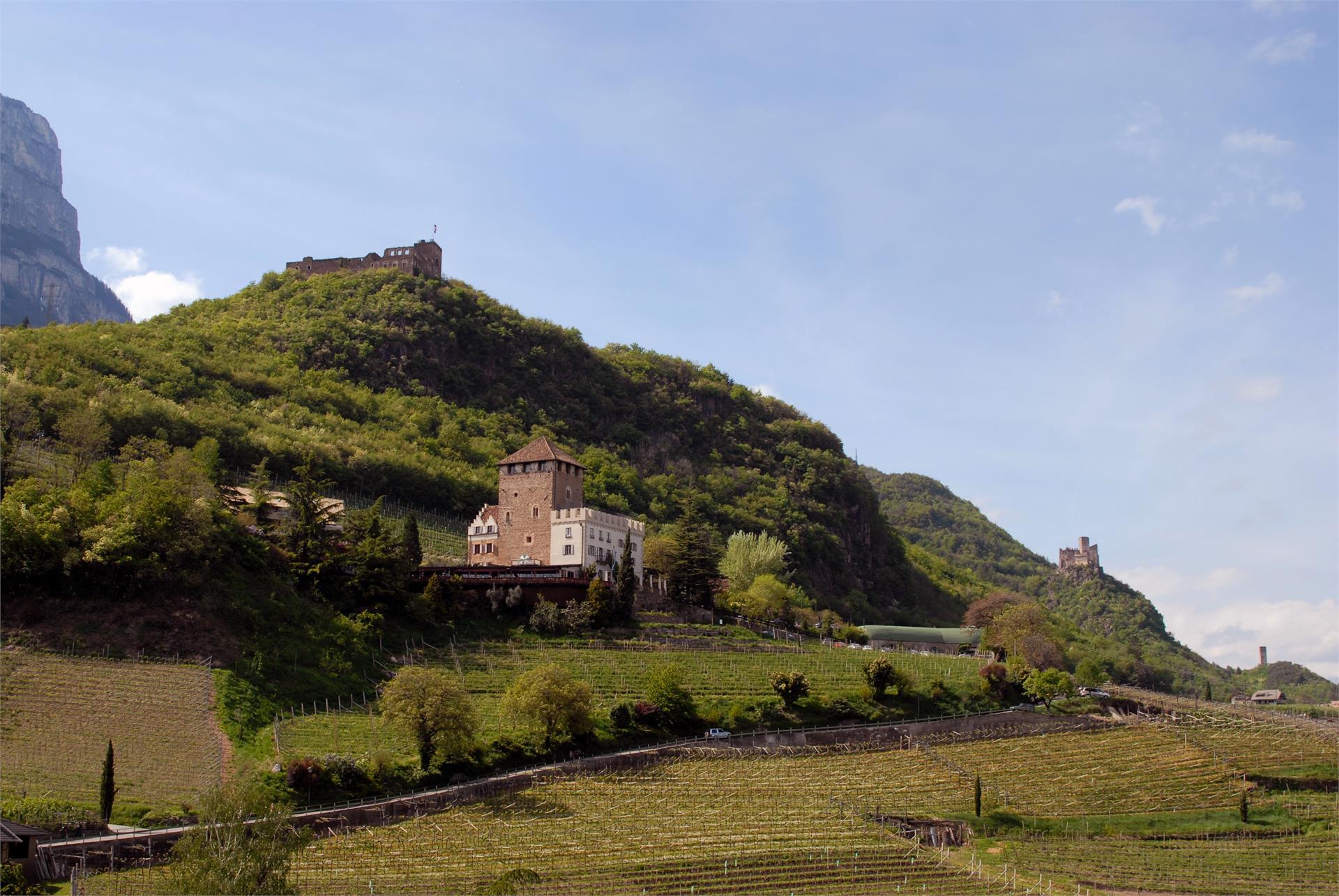 Die drei Burgen der Burgenwanderung