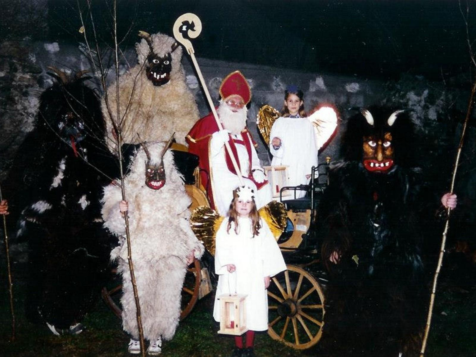 St. Nicholas parade with the devils