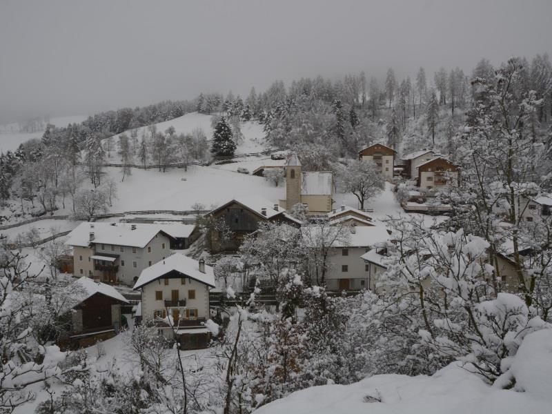 Prösels im Winter