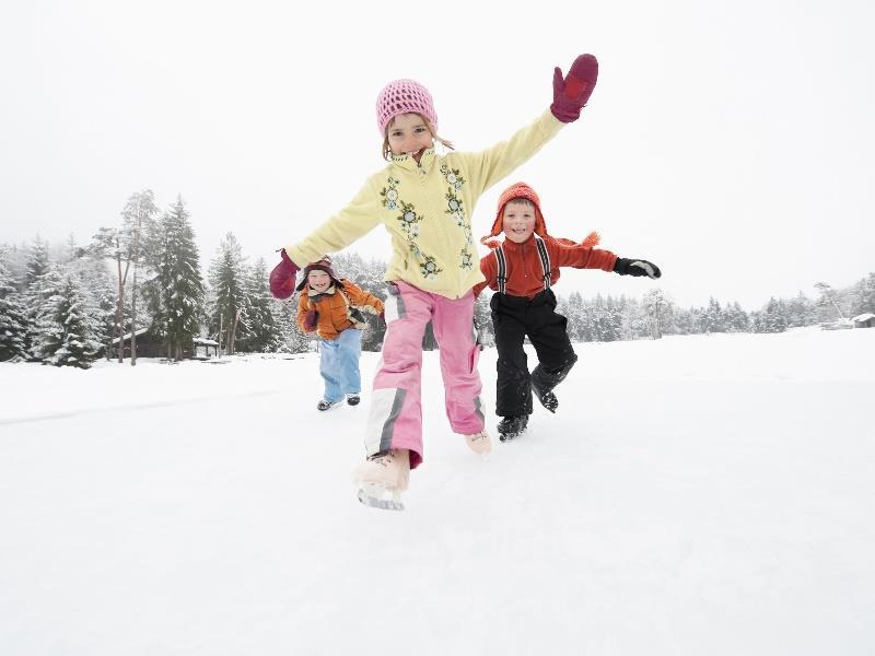 Eislaufen am Völser Weiher