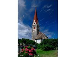 Church St. Oswald in Tschirland/Cirlano