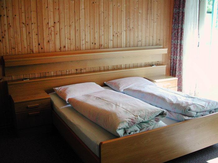 Residence Gamperhof - Ferienwohnung A - Schlafzimmer