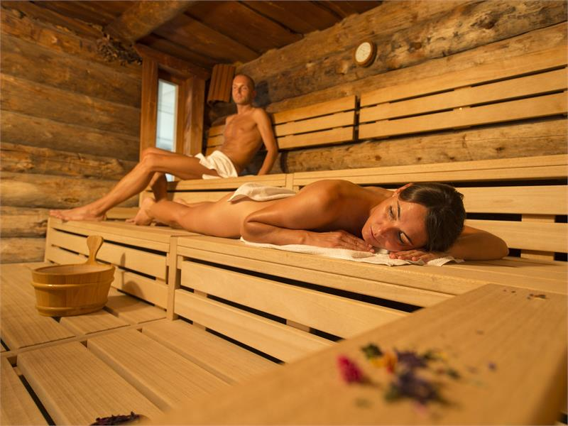 Sauna in the Sportwell centre a Malles