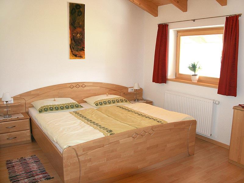 Appartement Föhre Schlafzimmer