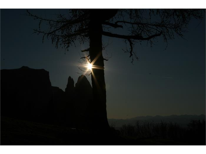 Sonnenuntergang- Hieblerhof, Fié allo Sciliar