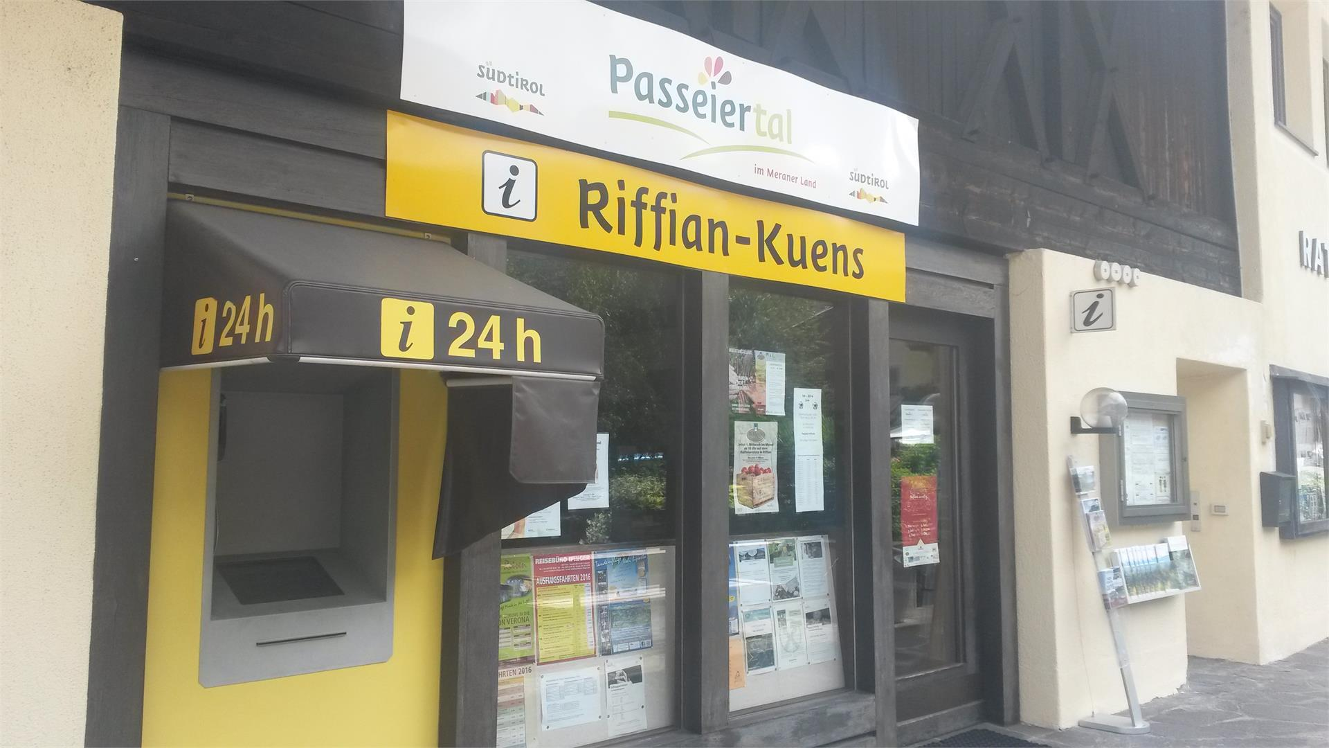 Tourist Office in Rifiano-Caines / Riffian-Kuens