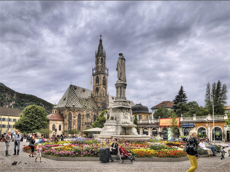 Bolzano Bozen cathedral