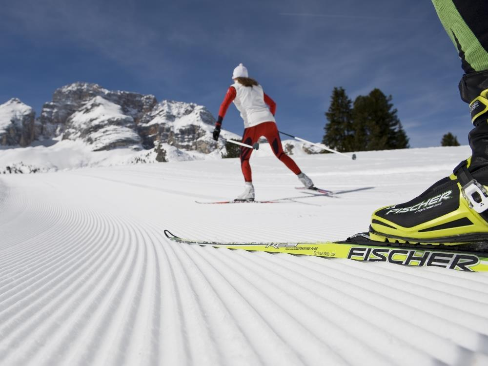cross country skiing San Candido Innichen Alta Pusteria Hochpustertal