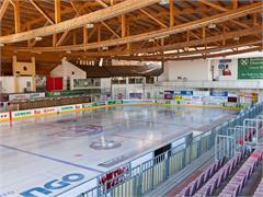 Eisstadion in der Sportzone Kaltern