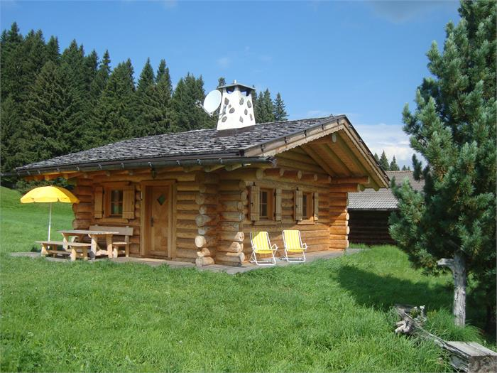 Malga Plieger in estate
