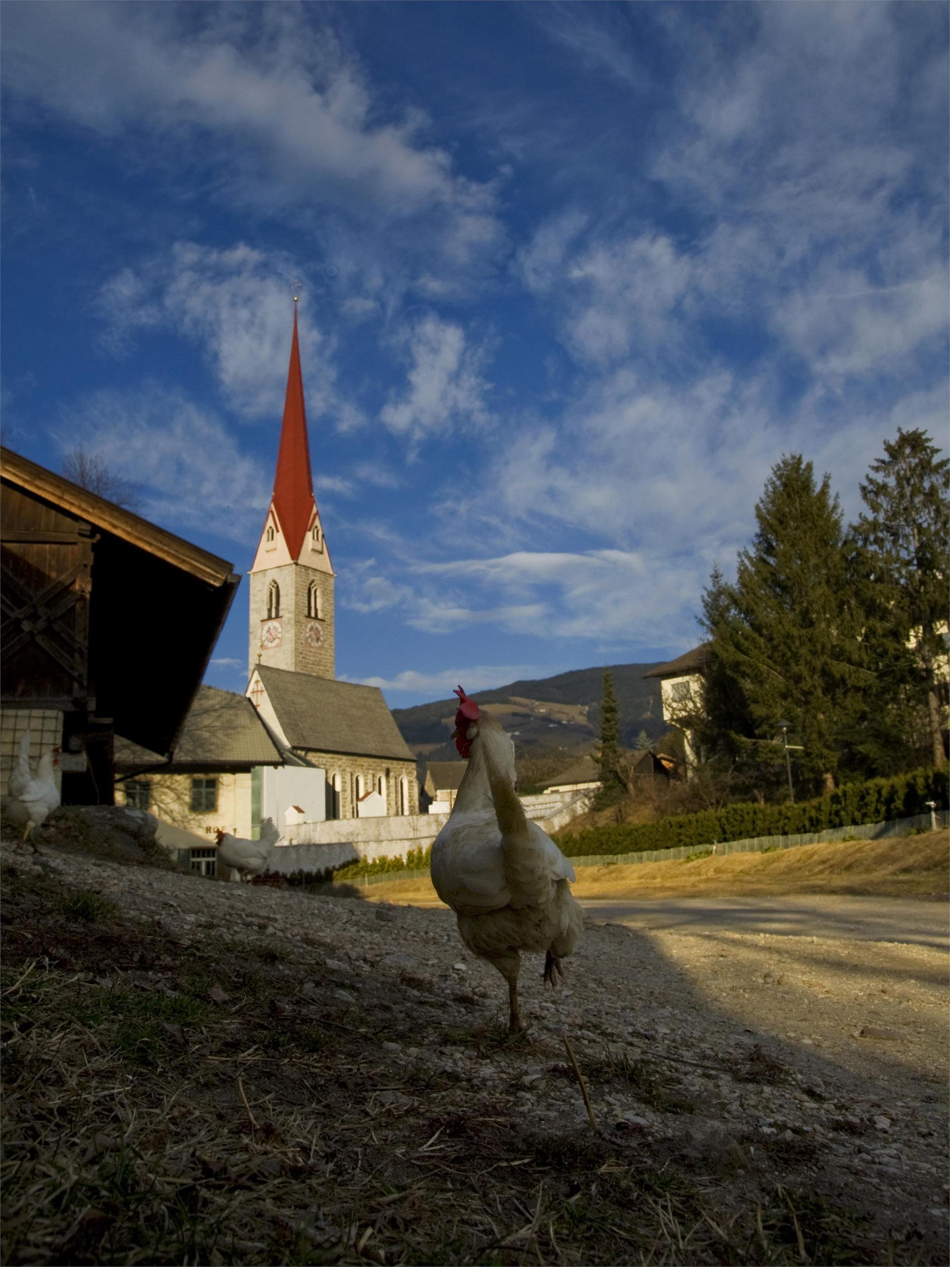 Pfarrkirche zur hl. Margaretha in Schabs
