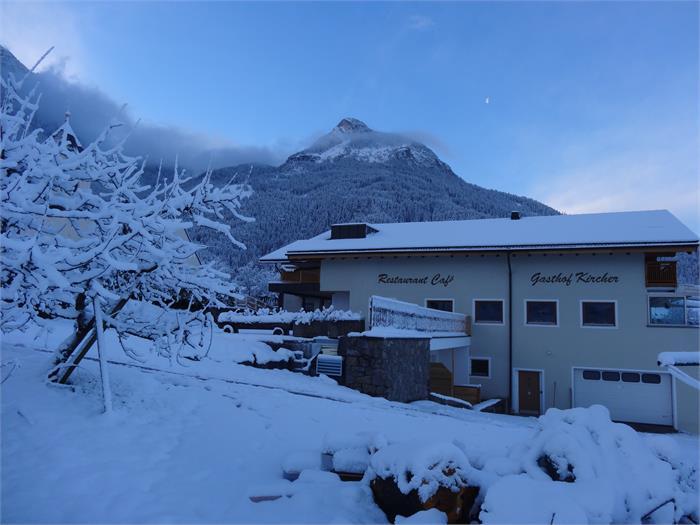 Inverno- Gasthof Kircher, Fié allo Sciliar