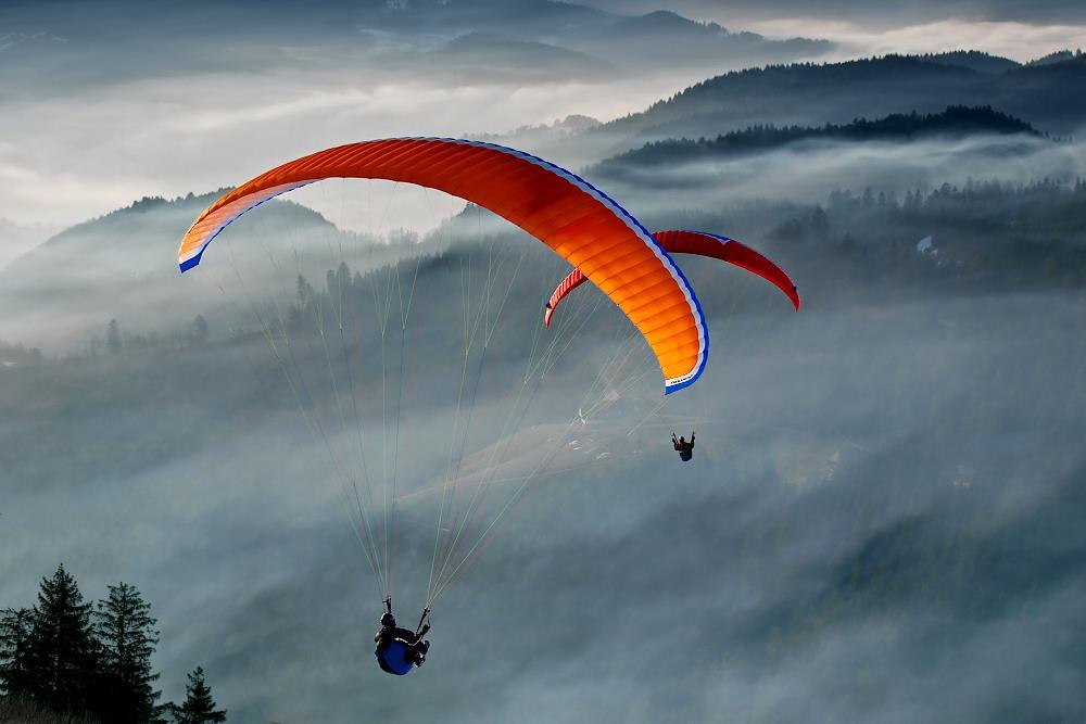 Parapendio Tandem Flights
