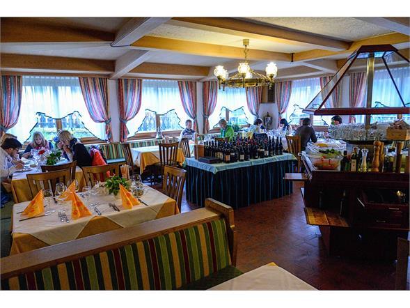 Albergo Neuwirt sala pranzo