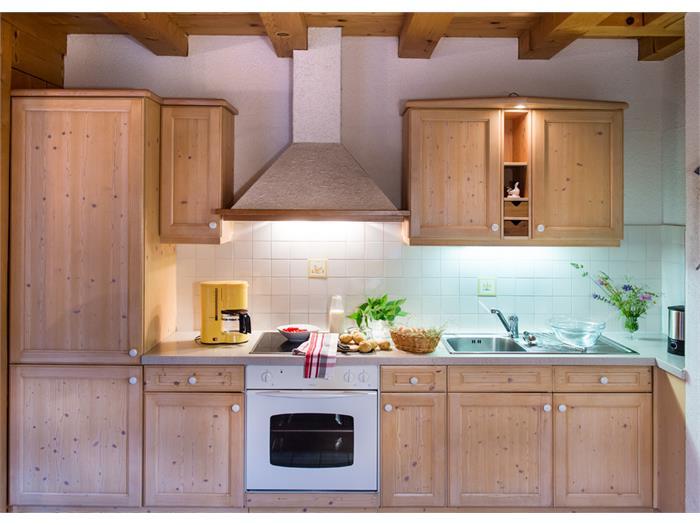 App. Fichtenholz - Küche