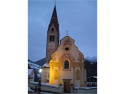 La chiesa parrocchiale di Pieve di Marebbe