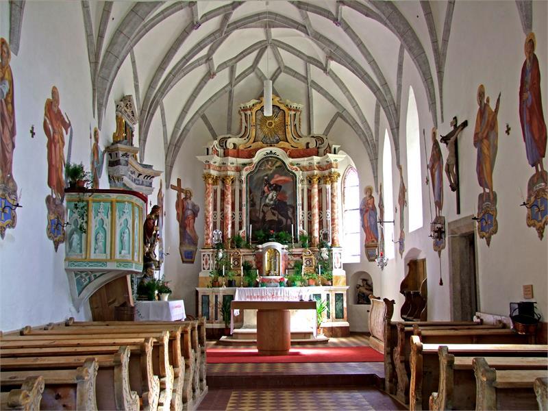 Chiesa Snodres navata