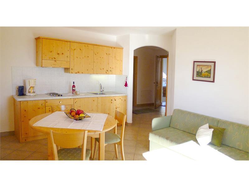 La cucina abitabile - Appartamenti Moar am Bichl