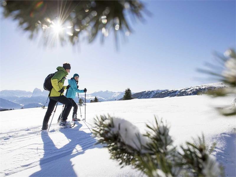 Schneeschuhwandern auf der Villanderer Alm