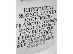 Cimitero dei francesi a S. Leonardo