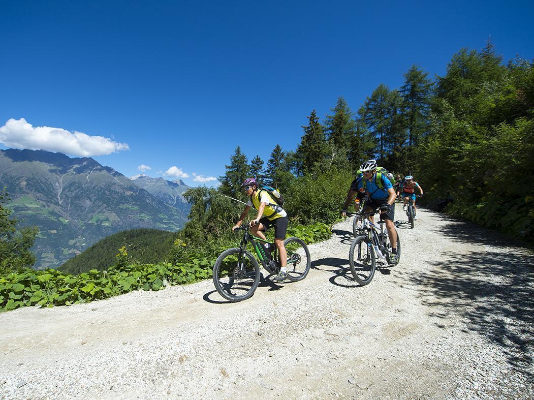 E-Mountainbike Tour Marzoner Alm