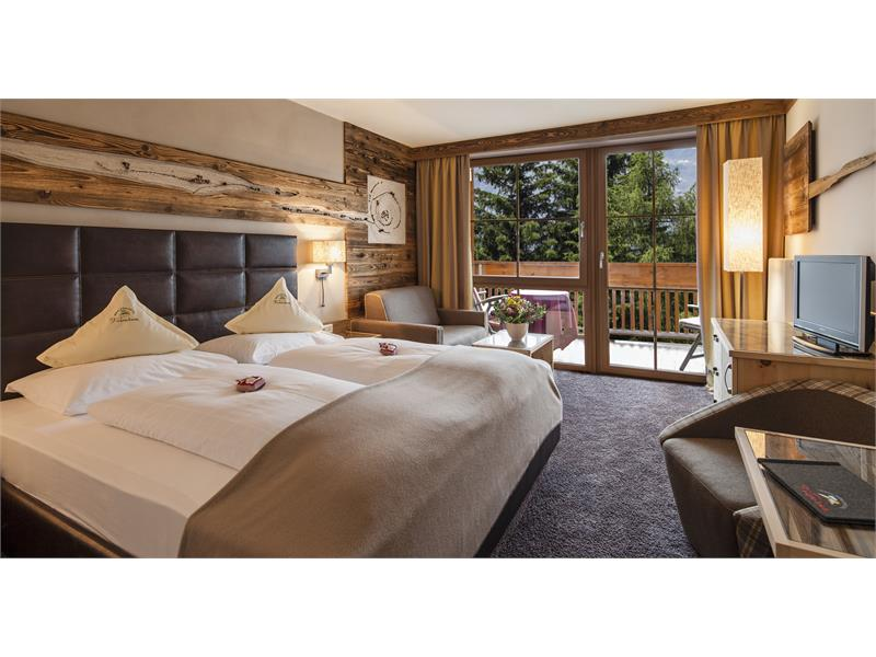 New comfort rooms and suites in the cozy hotel