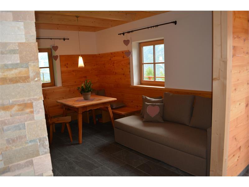Wohnzimmer Försterhütte
