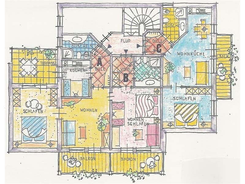 appartamenti secondo piano