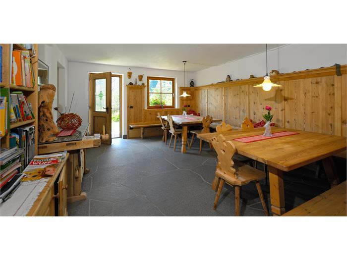 Library - breakfast room, Prackfolerhof- Fié allo Sciliar