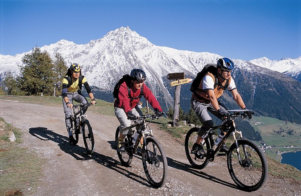 Mountainbiketour Roja - Fallung