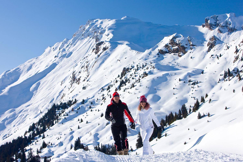 Winterwanderung am Roßkopf