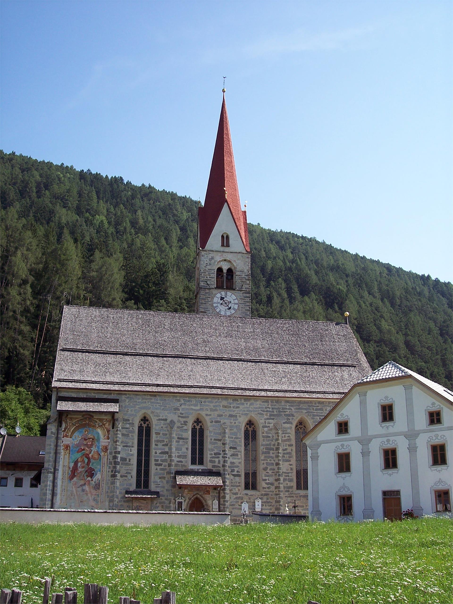 Parish church in St. Sigmund