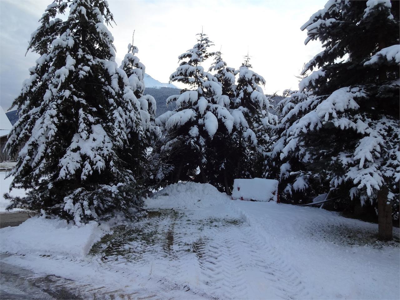 inverno davanti al hotel Panorama