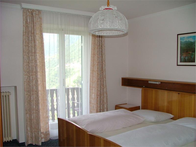 camera doppia con balcone panoramico