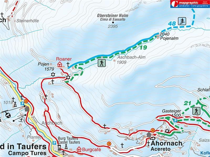 Pojenalm Schneeschuhtour