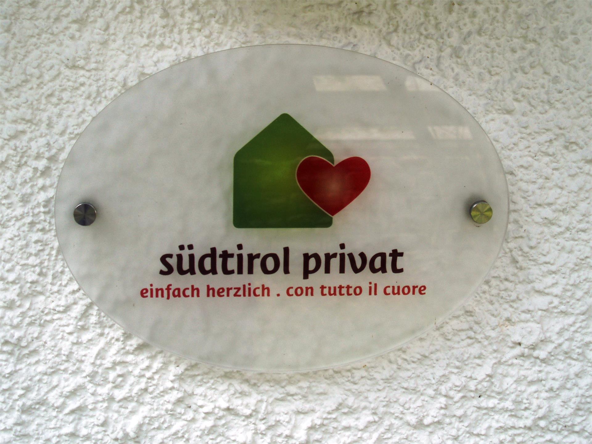 Mitgliedsbetrieb von Südtirol Privat