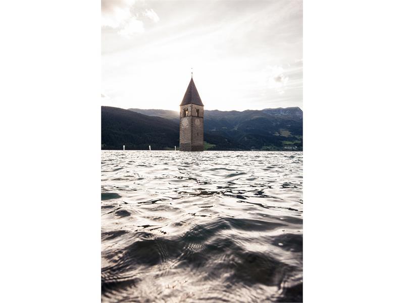 Der Turm im Reschensee