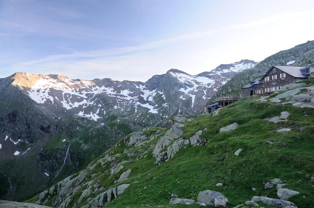 Zur Magdeburgerhütte und Rochollsee